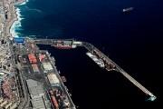 Puerto de Antofagasta desde el norte (2)