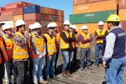 Visita guiada por las instalaciones del puerto