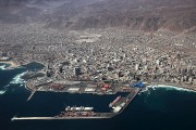 Vista del Puerto y la ciudad de Antofagasta