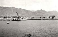 Puerto de Antofagasta desde el mar