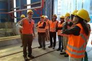 Académicos de la UA y CREA visitan el galpón