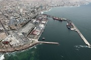 Puerto de Antofagasta desde el norte