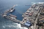 Puerto de Antofagasta desde el sur