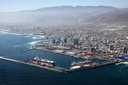 Vista panorámica del puerto y la ciudad